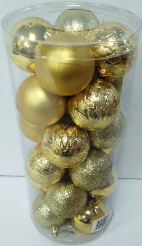 Gold Baubles